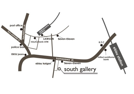 south gallery map